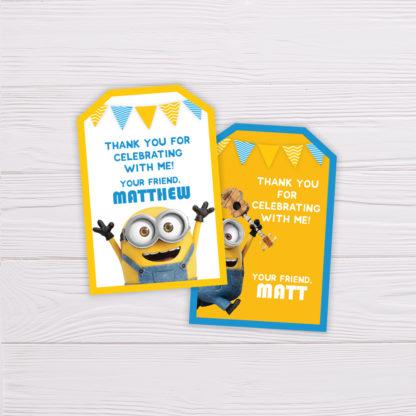 Minions Thank You Card