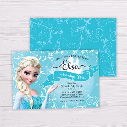 Frozen Elsa Invitation