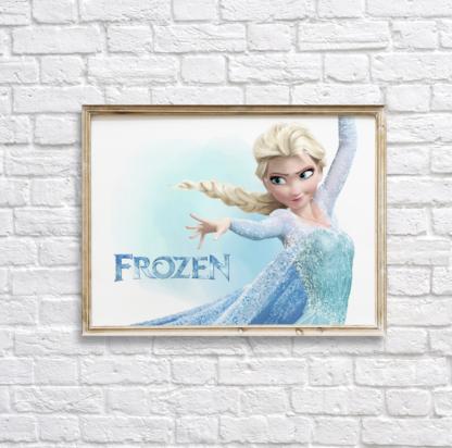 Frozen Elsa Wall Art/Decor Printable
