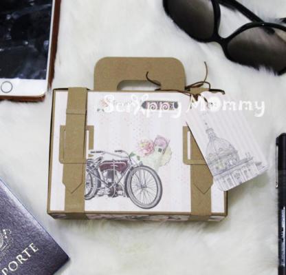 Luggage Box SVG Cut File