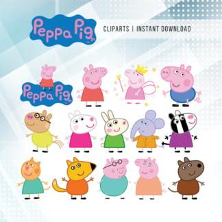Peppa Pig Clip Arts