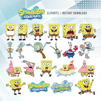 Spongbob Squarepants Clip Arts