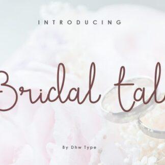 Bridal Tale Handwritten Font