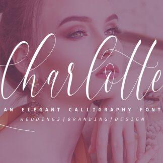 Charlotte Elegant Calligraphy Font