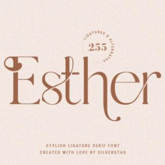 Esther Serif Font