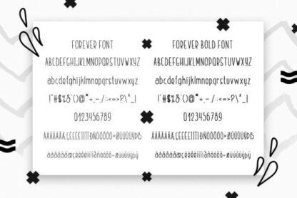 Friends Forever Duo Handwritten Display Font