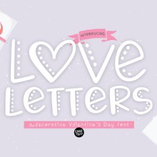 Love Letters Handwritten Font