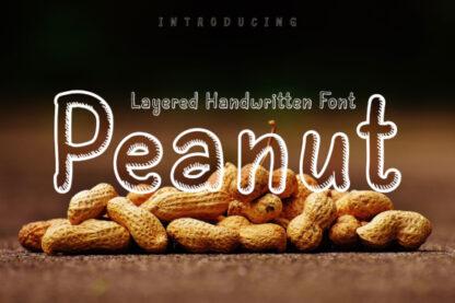 Peanut Handwritten Font